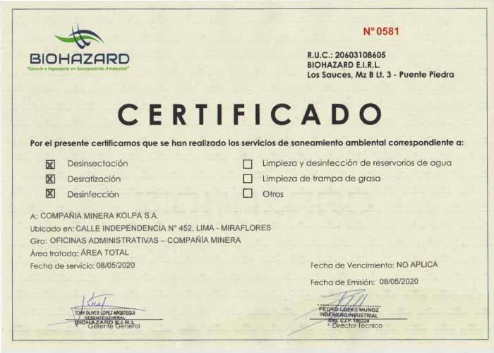 certificado-de-fumigacion-bio-hazard